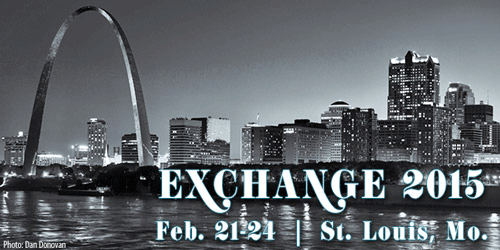 Exchange 2015 will be in St. Louis, Mo