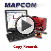 Using MAPCON, Copying Records
