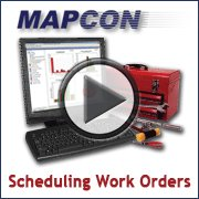 MAPCON Scheduling Work Orders