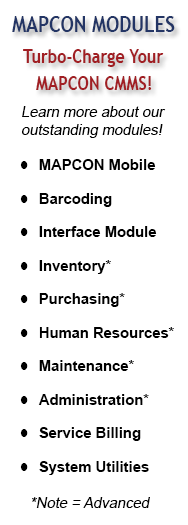 MAPCON Modules